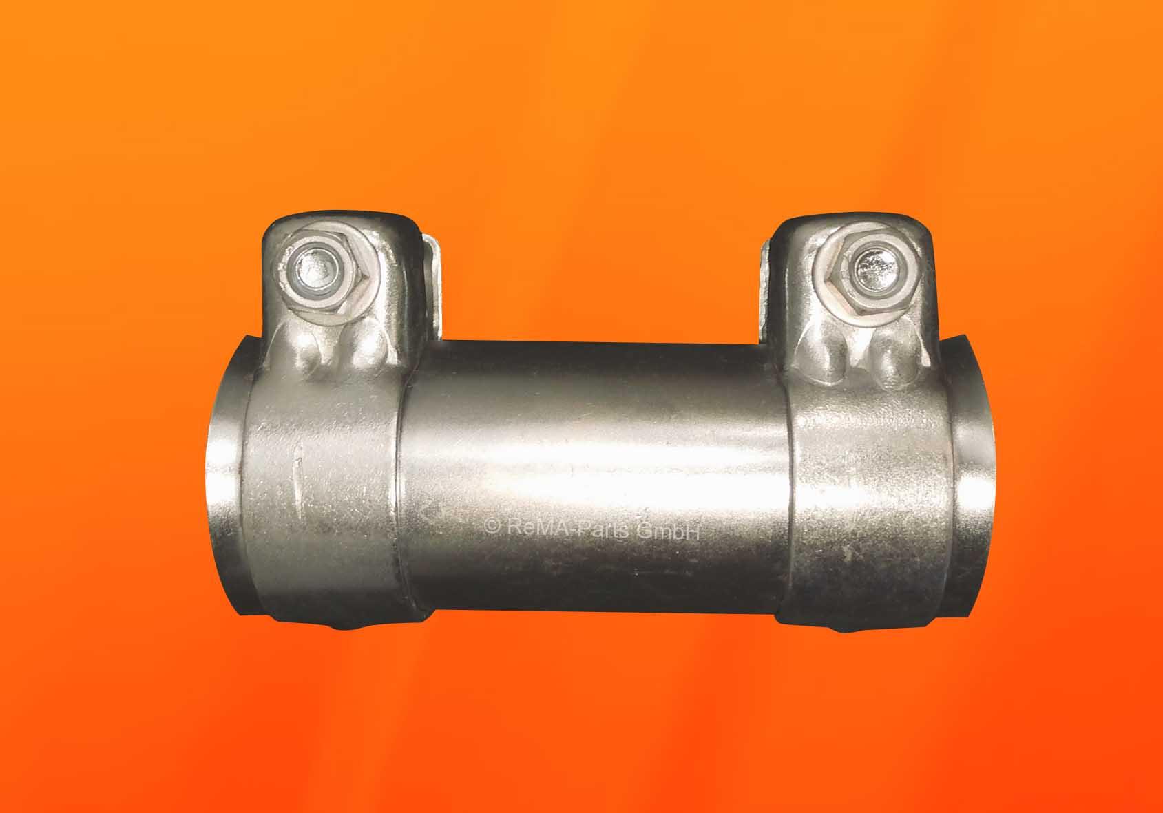X /& Z Rohrverbinder Auspuff /Ø 60x125mm