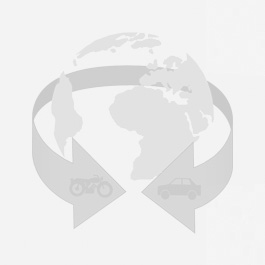 Dieselpartikelfilter FORD FOCUS II Turnier 1.6 TDCi (DAW) G8DB (C16DDOX) 80KW 2004- Automatik